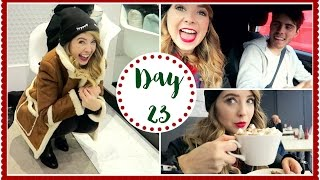 last minute christmas shopping   vlogmas