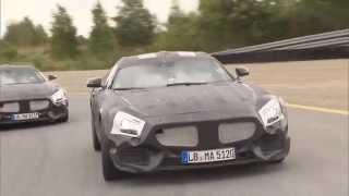 Mercedes Benz AMG GT Testing Papenburg