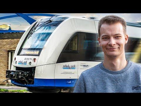 Ich Fahre Einen ZUG - Ein Tag Als LOKFÜHRER Bei Der Eisenbahn!