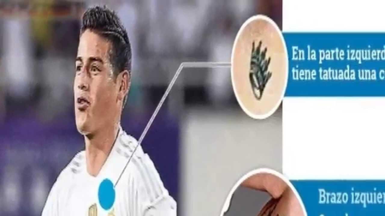 El Significado De Los Tatuajes De James Rodriguez La Leyenda