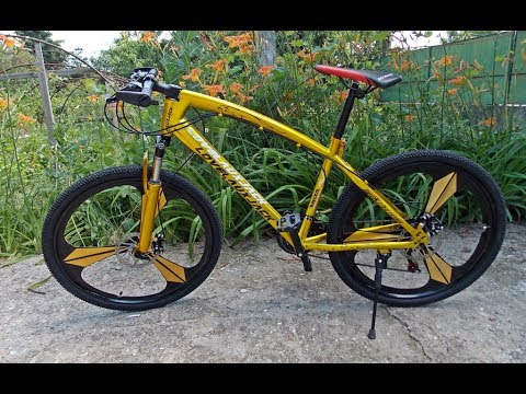 Mountain Bike Magnesium Alloy Wheels Youtube