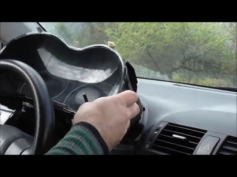 2007-2013 Toyota Corolla How To Remove The Dashboard Αφαίρεση πίνακα οργάνων Yiannis Pagonis