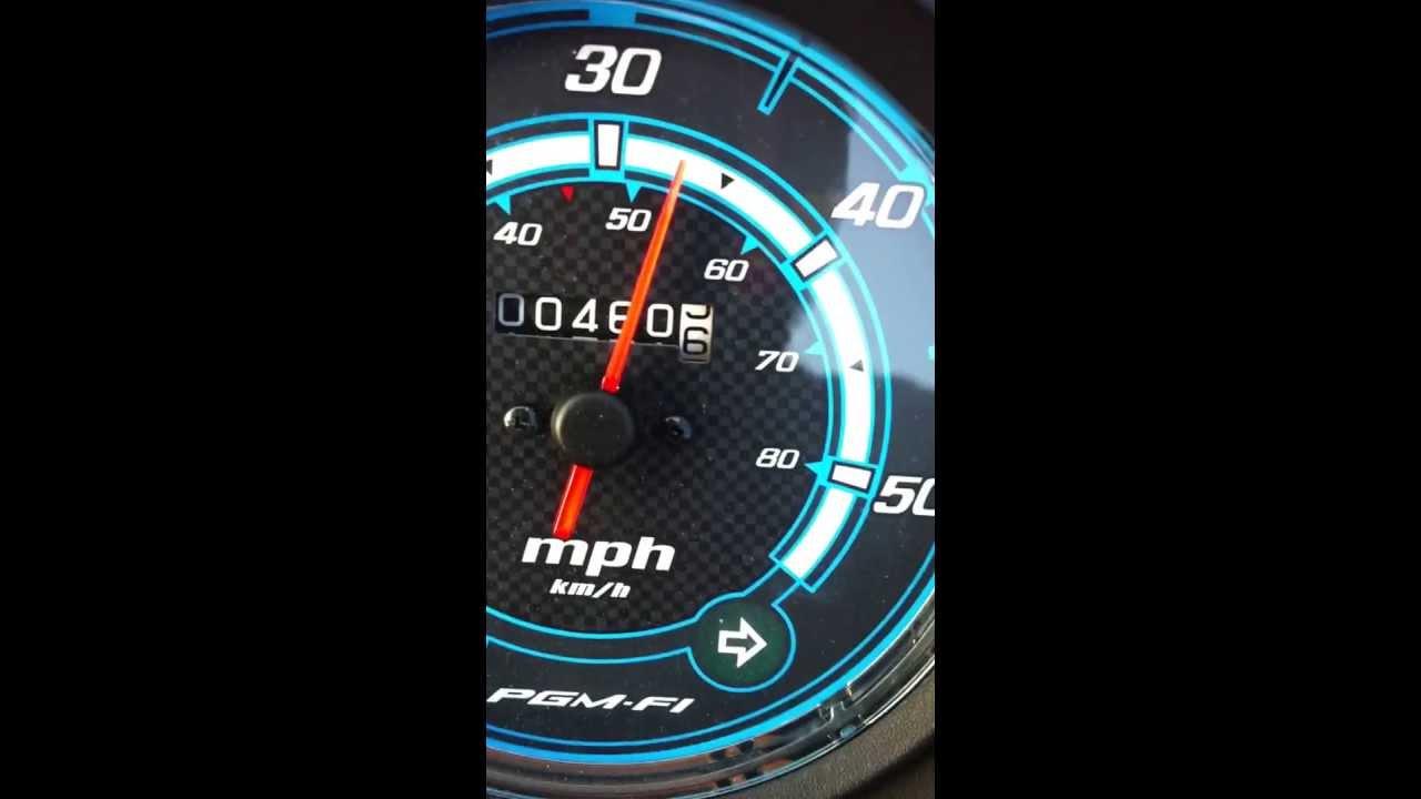Honda nsc 50 r top speed