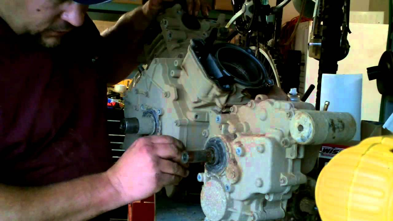 2014 Polaris Rzr 800 Wiring Diagram Can Am Outlander Transmission Removal 800 650 500 Youtube