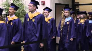 Processional - Lafayette High School - Graduation 2014