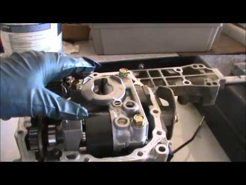 Tractor hydro transmission rebuild part 1  YouTube
