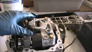 Tractor hydro transmission rebuild part 1