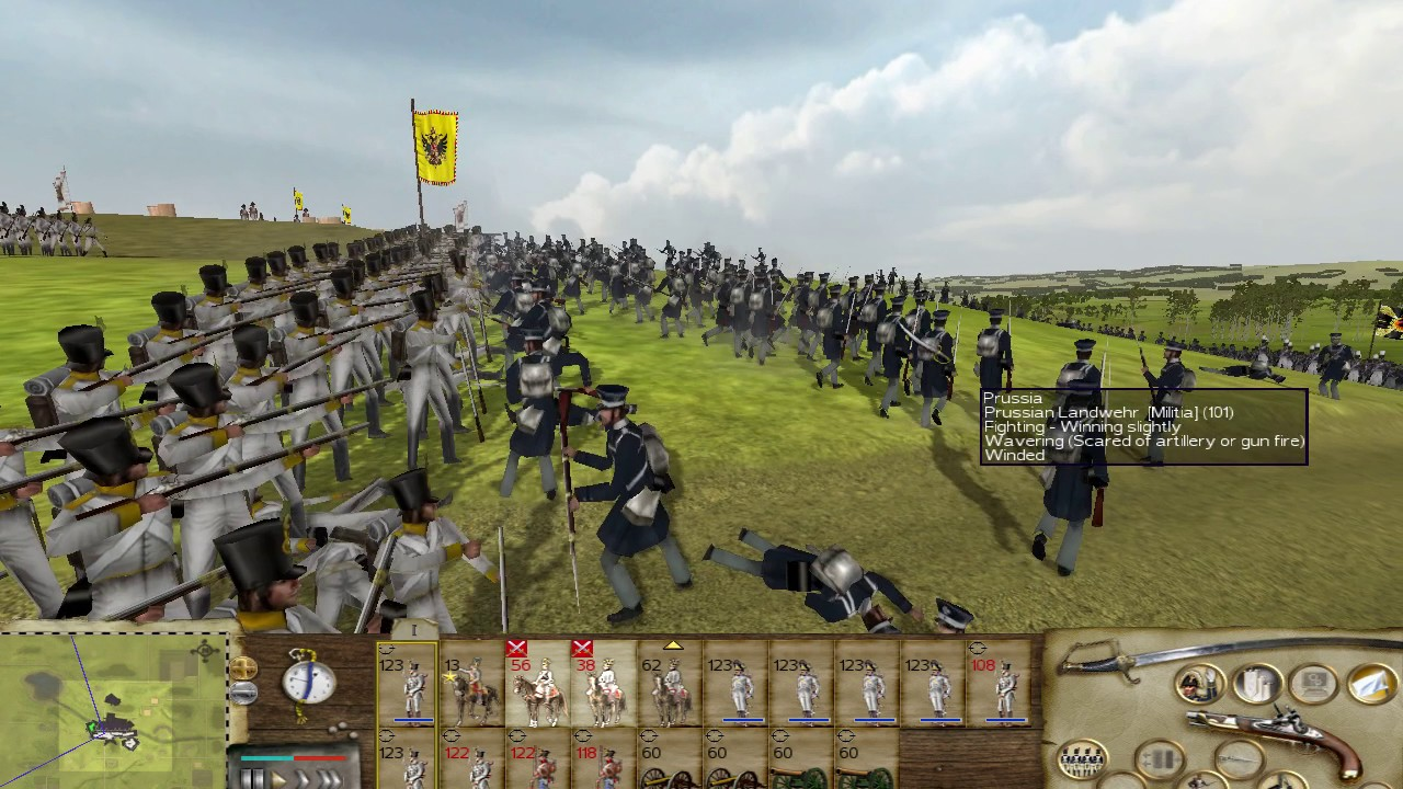 Austria vs Prussia - Napoleonic 2 - Rome Total War Mod