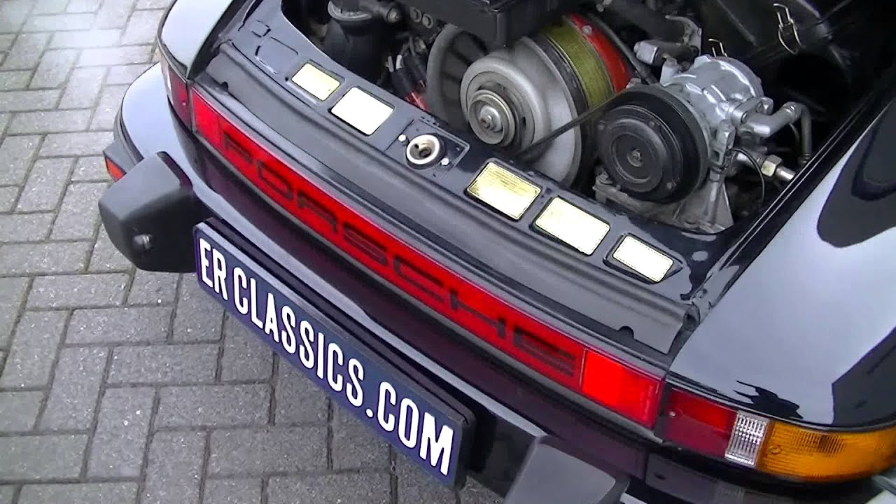 Porsche 911 930 turbo 1985 european version very good condition porsche 911 930 turbo 1985 european version very good condition video erclassics youtube vanachro Image collections