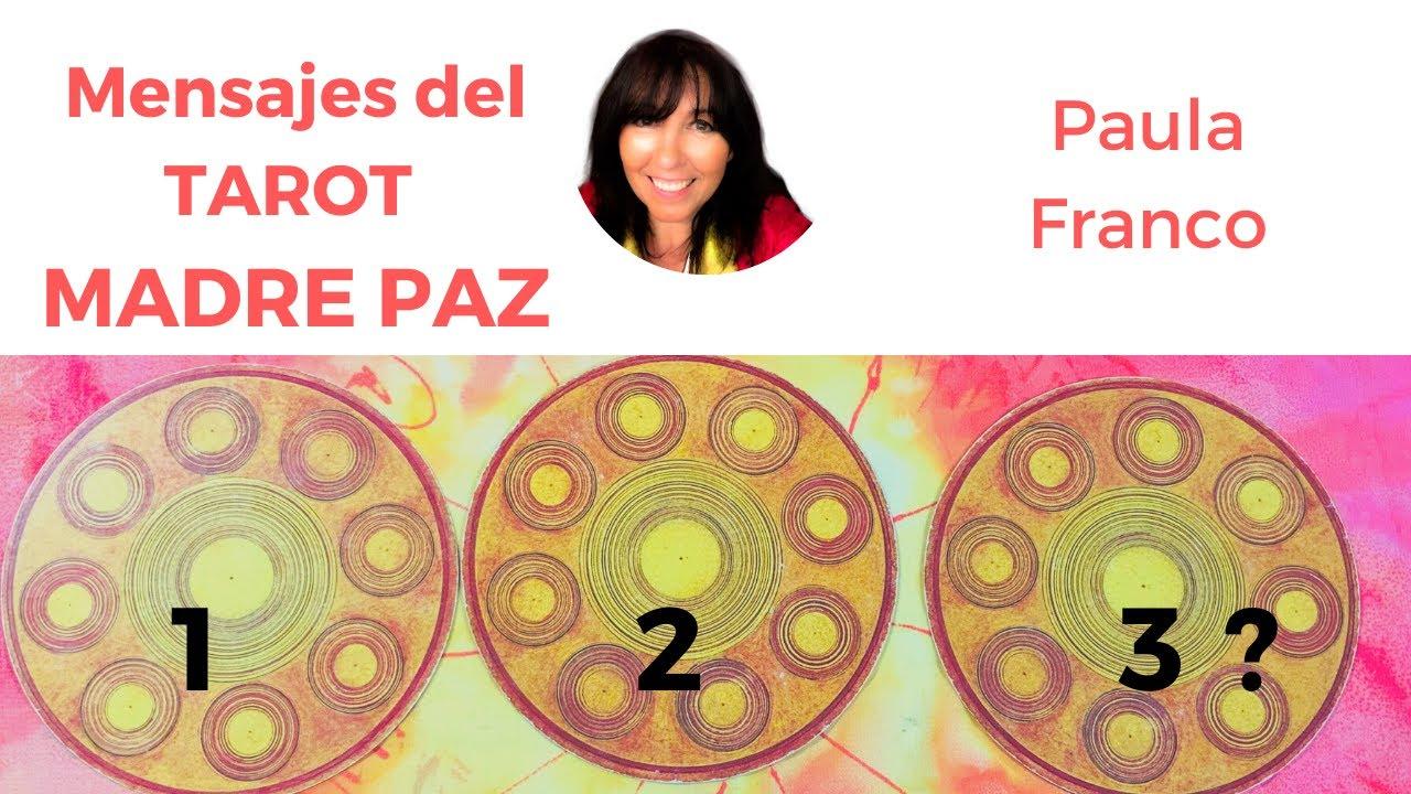 1,2 o 3 ? Cuál es el mensaje para esta semana del Tarot Madre Paz? Chamanismo Femenino