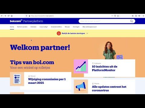 Hoe registreer je een account om te kunnen verkopen op bol.com