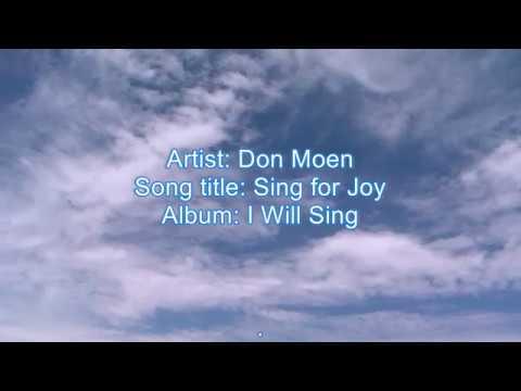 Sing For Joy Karaoke - Don Moen