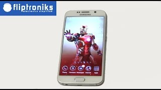 Avengers Age Of Ultron Iron Man Theme for Galaxy S6