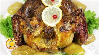 Курица с Яблоками в Духовке | Chicken with Apple in the Oven