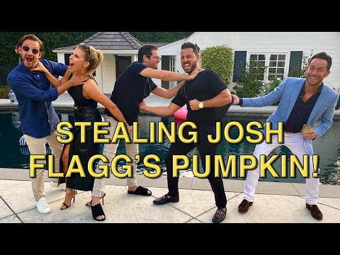 STEALING FLAGG'S PUMPKIN W THE CAST OF MILLION DOLLAR LISTING | ALTMAN | REAL ESTATE | EPISODE #72