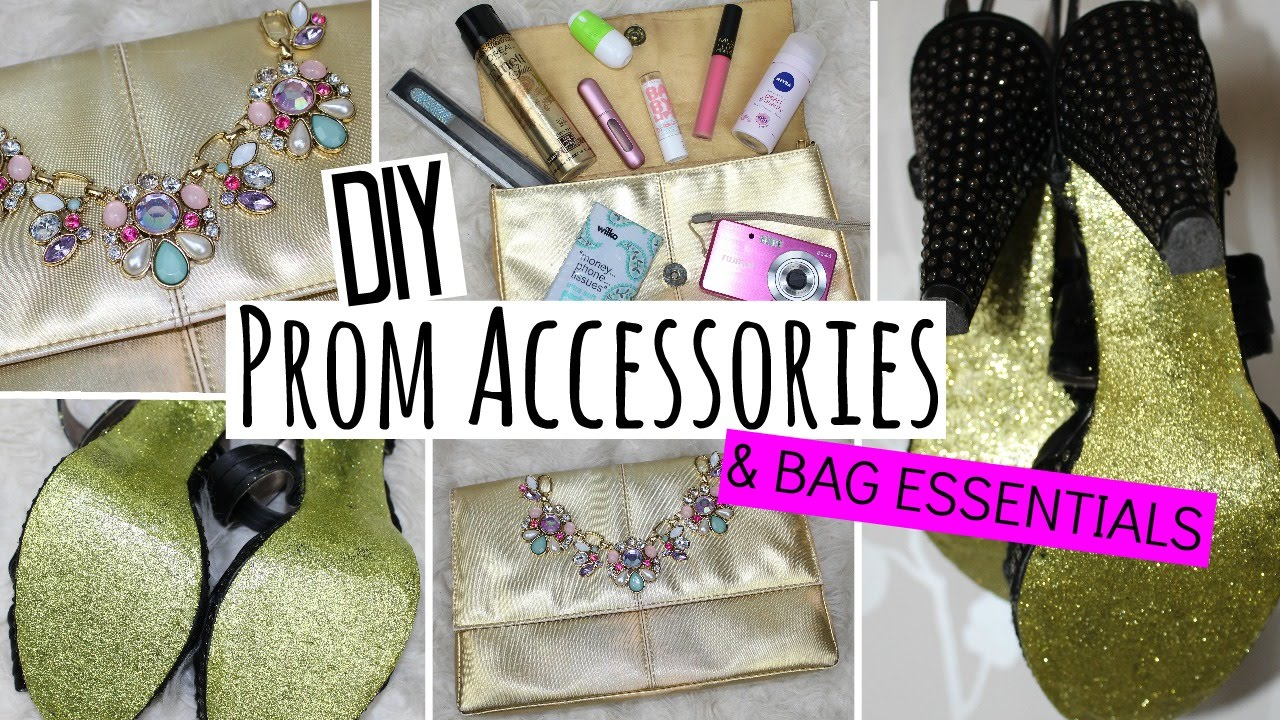 DIY Prom Accessories and Bag Essentials   Easy   Affordable     YouTube DIY Prom Accessories and Bag Essentials   Easy   Affordable