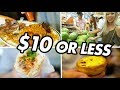 $10 CHINATOWN FOOD CRAWL in Brooklyn (Egg Tart, Bahn Mi, Chino Latino) | Fung Bros