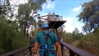 Zipline Tour - CLIMB Works Keana Farms