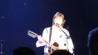 Paul McCartney - Everybody out there - Montevideo, Uruguay.
