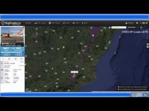 NEVOEIRO fecha Aeroporto do GALEAO RJ aeronaves realizam orbita em rota.[RADAR E FONIA].