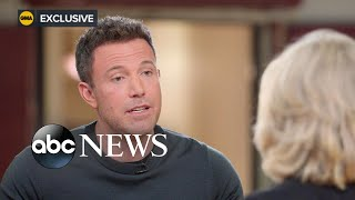 Ben Affleck on his supportive friends in Hollywood, sobriety and new movie, Part 2 l ABC News