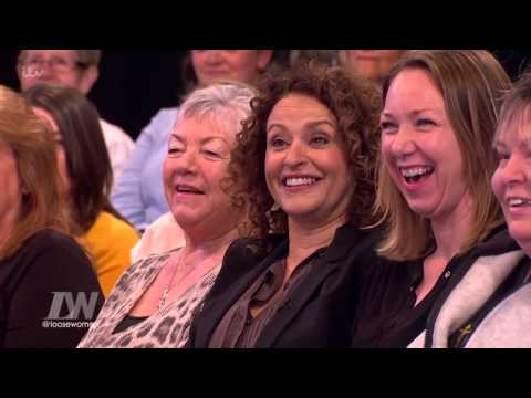 Nadia Sawalha Heckles From The Audience  Loose Women