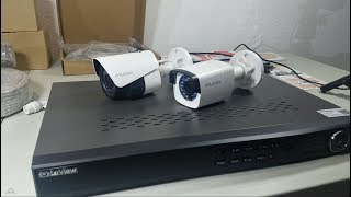 Review LaView NVR / DVR 8 Channel HD 1080P PoE IP Security System KNT982A42W4 Kit Part 1: Unboxing