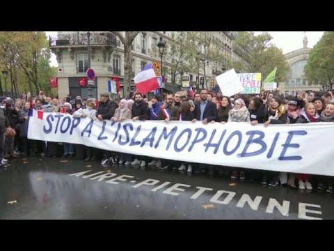 Milhares contra a islamofobia em França