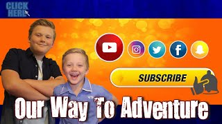 Our Way To Adventure | #YouTubeKids
