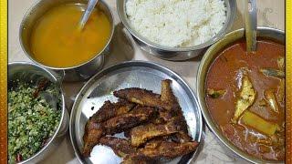 Fish Gravy  Fish Kulambu   Fish Fry  Radish Poriyal  Radish Rasam  Lunch Menu   6