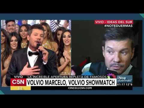 C5N - No te duermas: Habla Marcelo Tinelli tras el primer programa de Showmatch 2016