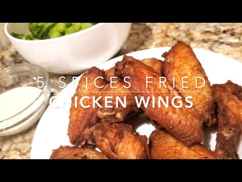 5 Spices Fried Chicken Wings