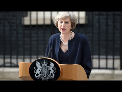 Watch Theresa May's First Official Remarks as U.K. Prime Minister