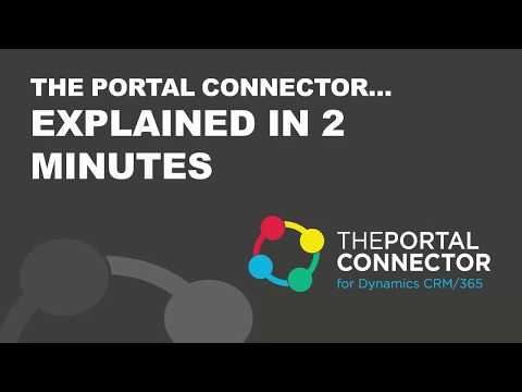 Features of The Portal Connector for Dynamics CRM and Dynamics 365