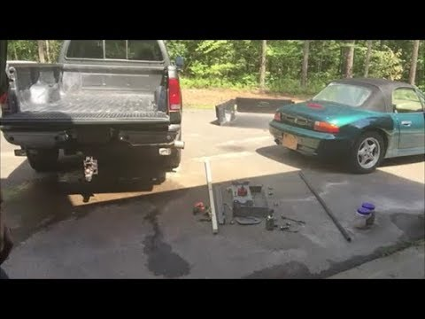 Bw Gooseneck Hitch Install 2003 Ford F350 Superduty Part 1 Of 2