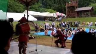 魚津市松倉城址のろし祭り