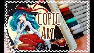☆ COPIC ART || Halloween Witch ☆