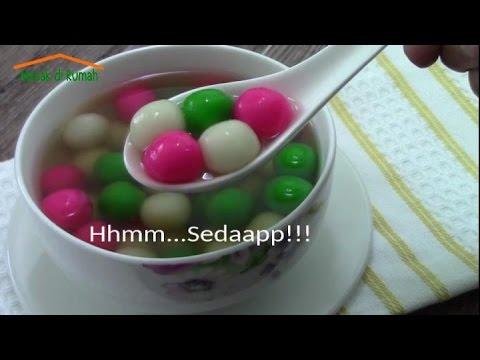 Resep Cara Membuat Onde Jahe (Tang Yuan)