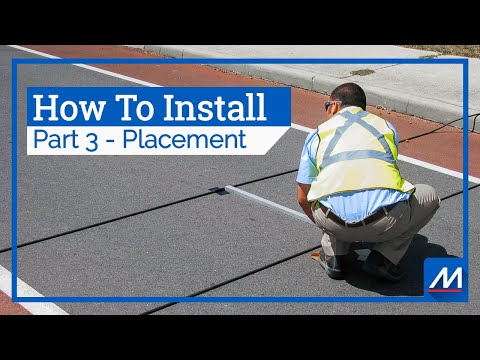 Traffic Counter Installation: Part 3 (Road Tube Placement) | MetroCount