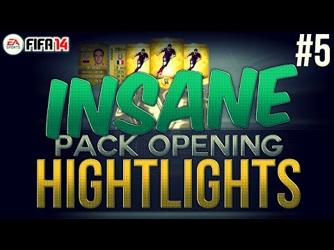 Insane Pack Opening Highlights! GIVEAWAY! #5 | FIFA 14 Ultimate Team