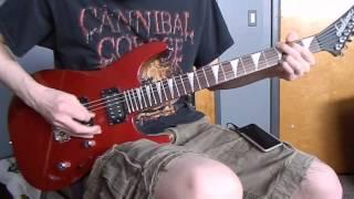pearl jam corduroy guitar cover