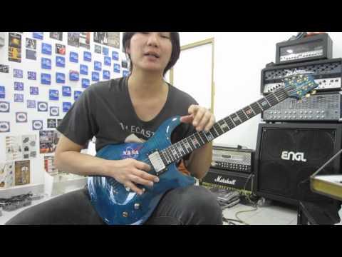 สอนกีตาร์ เบสิคการเล่นริทึ่มเพาเวอร์คอร์ดแนวร็อคเมทัล Basic Guitar Power Chord Rock Metal Rhythm