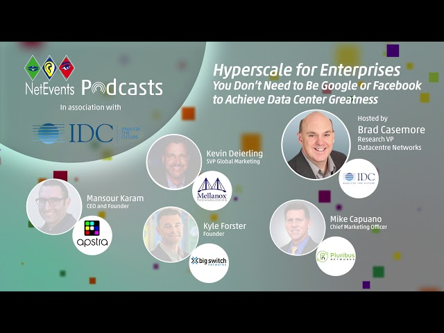 Hyperscale for Enterprises - You Don't Need to be Google or Facebook to Achieve Data Center...