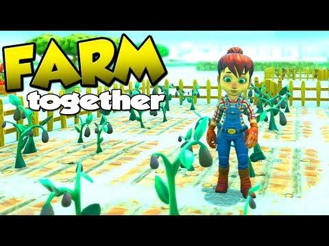 FARMER PEANUTS! - Farm Together Dansk Ep 1