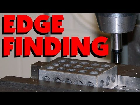 MILLING HEAD ALIGNEMENT & EDGE FINDING USING A DIAL INDICATOR, EDGE FINDER OR WIGGLER. MARC LECUYER