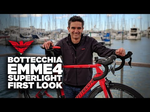 The Bottecchia EMME4 Superlight: THE RIDE's First Look!