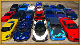 GTA 5 Roleplay - STEALING 20 LUXURY CARS | RedlineRP