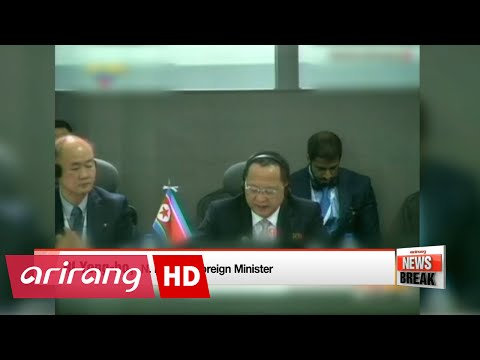 N. Korea ready for additional attacks against U.S. provocations: N. Korea's FM