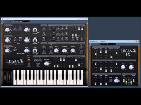 LoganA virtual Analog Synth with LoganA FX