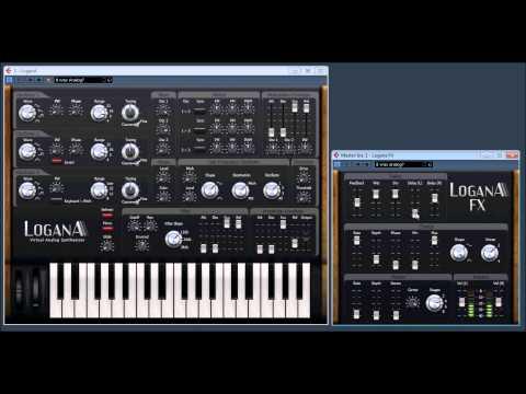 LoganA virtual Analog Synth with LoganA FX